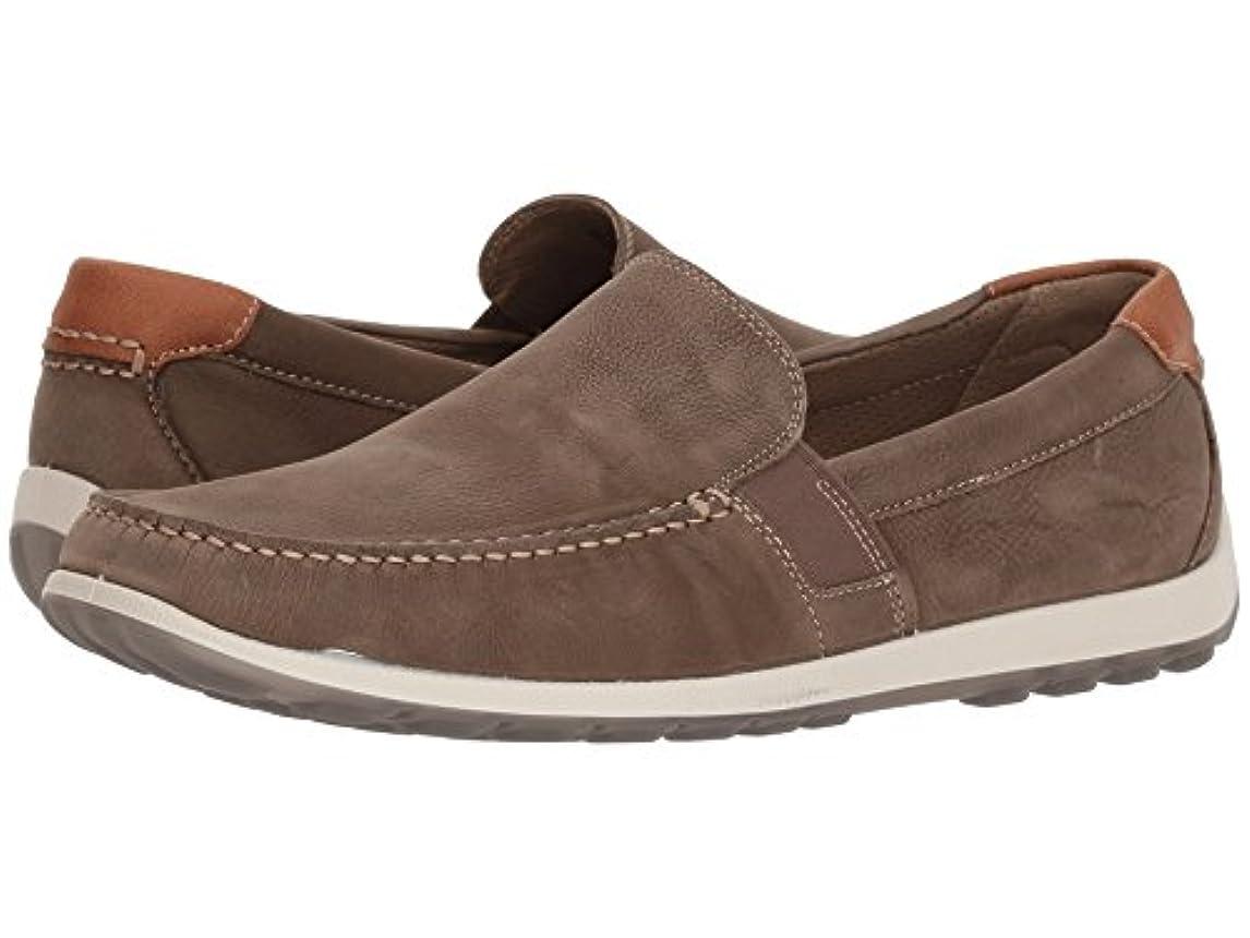 商品夢摘む[ecco(エコー)] メンズローファー?スリッポン?靴 Dip Lux Moc Moonless EU46 (US Men's 12-12.5) (29-29.5cm) M