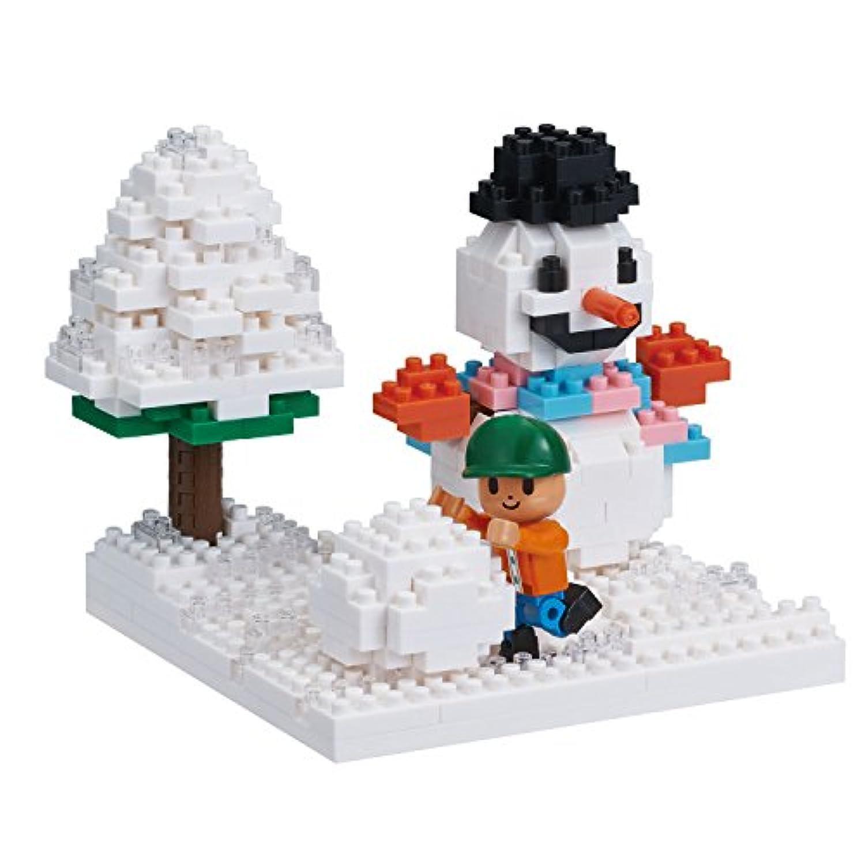 ナノブロック ストーリーズコレクション 雪遊び NBH_165