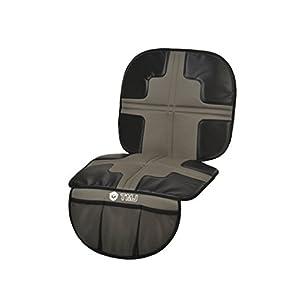 TMJ シートプロテクター グレー お車のシートをチャイルドシートの擦れ傷から最小限に守る