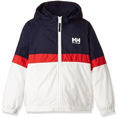 (ヘリーハンセン)HELLY HANSEN(ヘリーハンセン) トライベルゲンジャケット(キッズ)  HOJ11704 <ジュニア> HOJ11704 HW へリーブルー×ホワイト 130