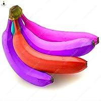 100個のバナナの植物果物の木希少なエキゾチックな果物盆栽のバナナポットされた贈り物野菜の冬の装飾家庭&ガーデン:ブルー