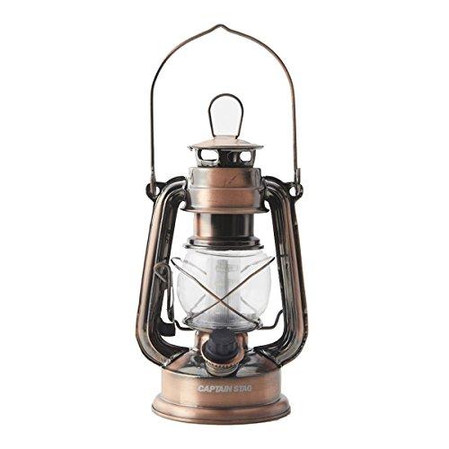 RoomClip商品情報 - キャプテンスタッグ ランタン アンティーク 暖色 LED ランプ ブロンズ M-1328 グランピング