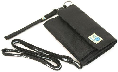 (カリマー) Karrimor 三つ折り財布 2.ブラック