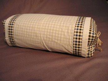 坊主枕格子柄/大型そば殻まくら/男性に人気の枕です厳選そば殻使用・日本製/枕カバ...