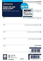 ファイロファックス システム手帳 リフィル 2019年 1月始まり A5 ウィークリー 19-68517 正規輸入品