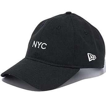 [ニューエラ] メンズ レディース キャップ 9THIRTY クロスストラップ NYC 930 BASIC FABRICS NYC2 BLK SWHI ブラック×ホワイト 11899279