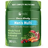 One Daily Multivitamin for Men - with Whole Food Vitamins - Immune Support with Clinically Proven Vitamin C, Vitamin D, Zinc
