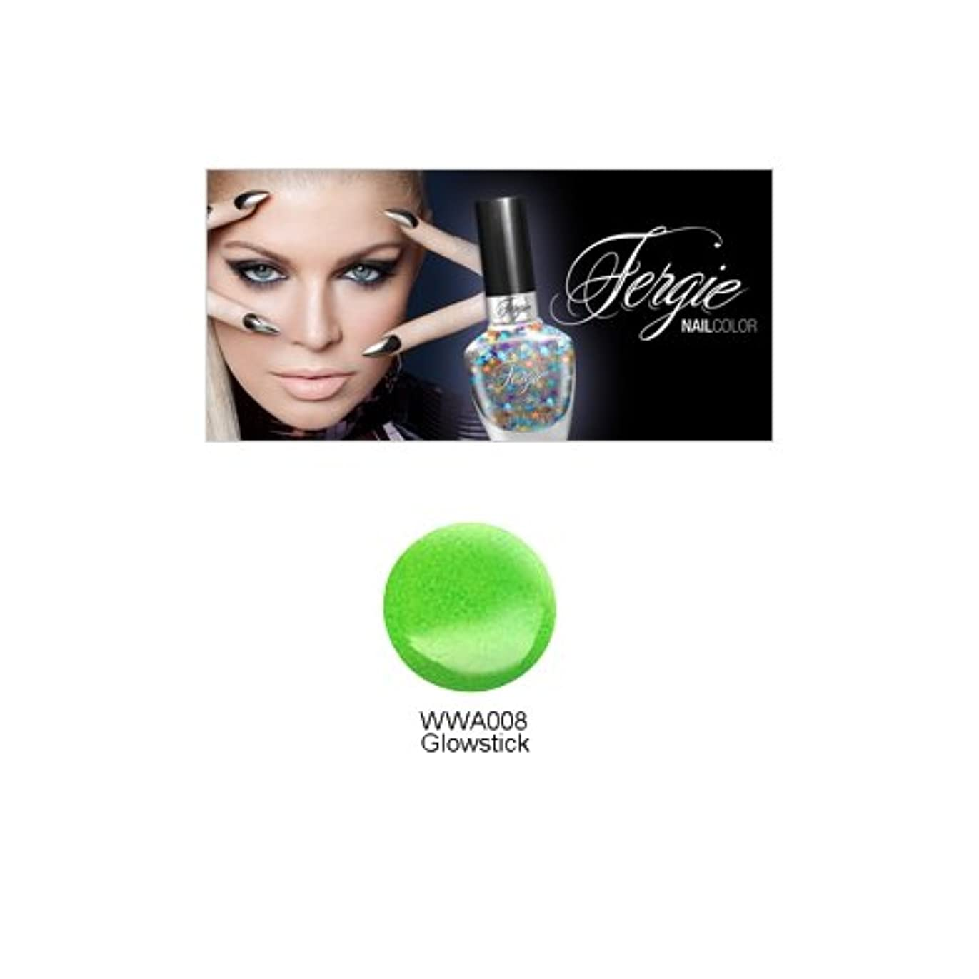 ホテル努力小人Wet N Wild FERGIE NAIL COLOR - Glowstick (並行輸入品)