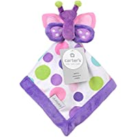 Carter's Butterfly Security Blanket with Plush by Triboro Quilt