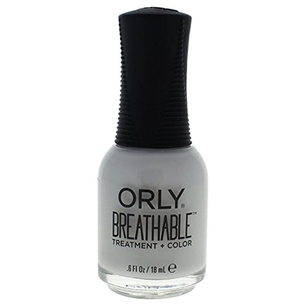 カウンターパート中毒割るOrly Breathable Treatment + Color Nail Lacquer - Power Packed - 0.6oz / 18ml