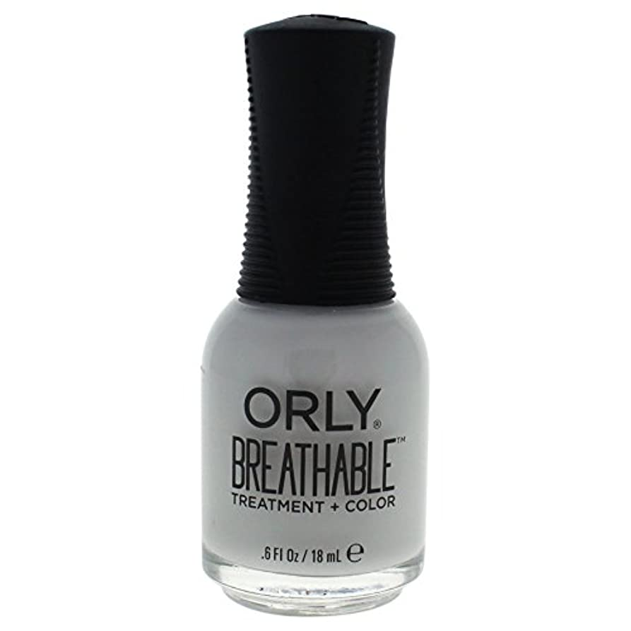 中性悪のモーターOrly Breathable Treatment + Color Nail Lacquer - Power Packed - 0.6oz / 18ml