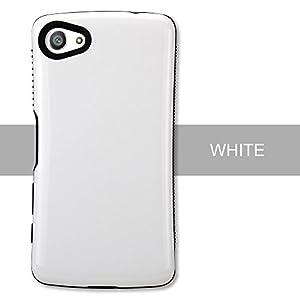 Sony Xperia Z5 Compact SO-02H対応ケース,SJS 耐衝撃ケースTPUスキッド抵抗堅牢なSony Xperia Z5 Compact専用カバー(ホワイト)