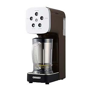ドウシシャ コーヒーメーカー クワトロチョイス ミキサー機能搭載 ブラウン QCR-85A BR