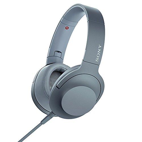 ソニー SONY ヘッドホン h.ear on 2 MDR-H600A : ハイレゾ対応 密閉型 リモコン・マイク付き 2017年モデル ムーンリットブルー MDR-H600A L