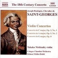 SAint-Georges - Violin Concertos (2001-05-28)