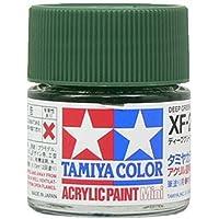 タミヤ アクリルミニ(つや消し) XF26 ディープグリーン