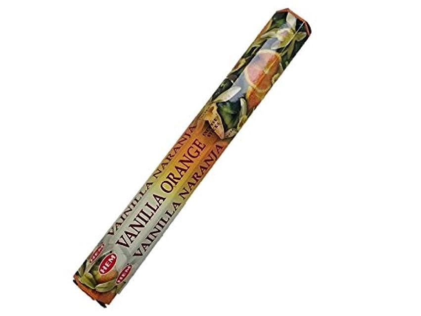 緩める牧草地直接HEM(ヘム)お香:バニラオレンジ スティックお香/インセンス/1箱