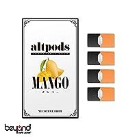 JUUL用ノンニコチンカートリッジ フレーバー【altpods】MANGO(マンゴー) 電子タバコ VAPE【BeyondVapeJapan】