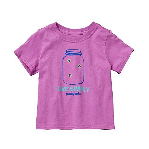 パタゴニア ベビー グラフィック コットン Tシャツ