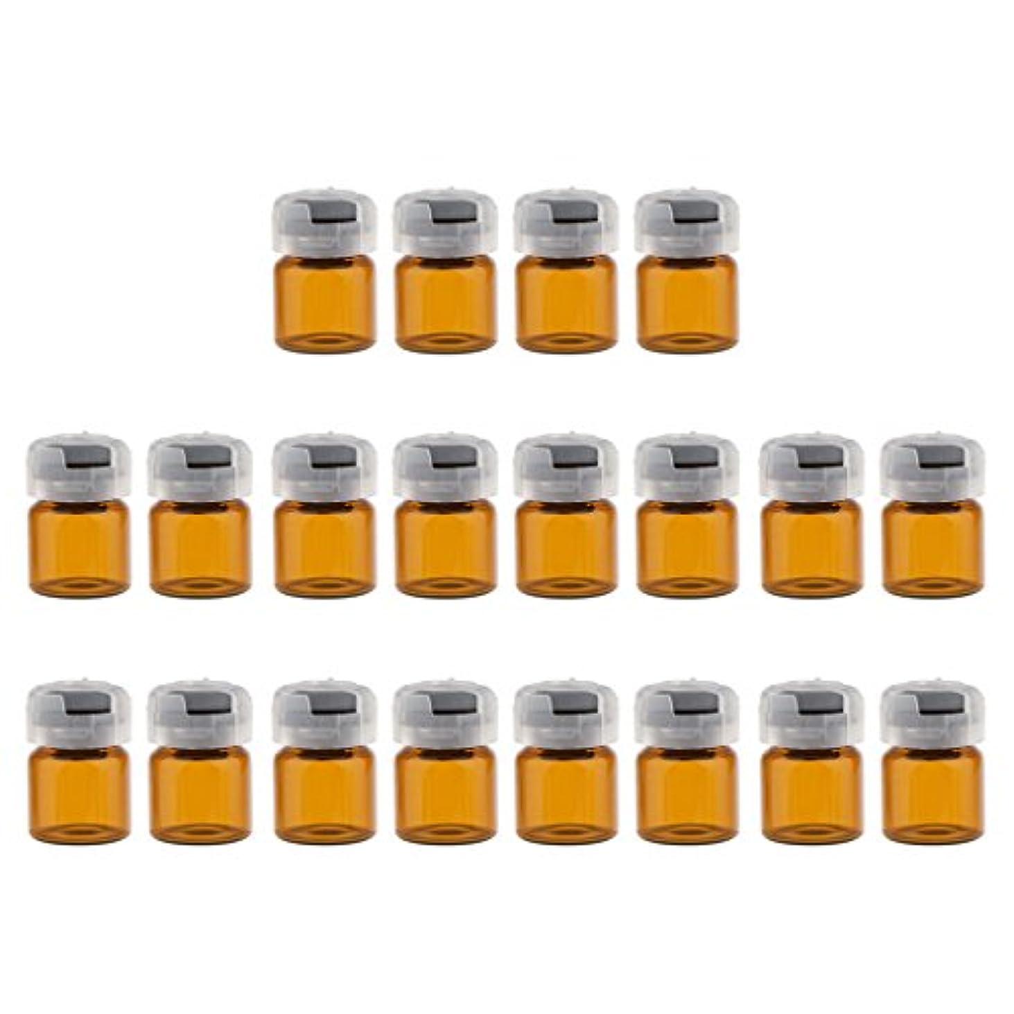 王朝湿原カニ約20個 空 バイアル 密封 滅菌バイアル ガラス 液体容器 3サイズ選べる - 3ml