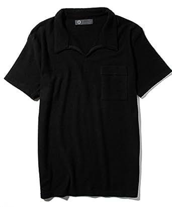 JH junhashimoto(ジェイエイチ ジュンハシモト) パイルスキッパーシャツ jsh-802 ブラックL
