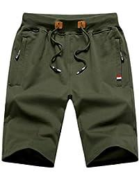 ハーフパンツ メンズ 半ズボン 短パン 半パンツ 無地 5分丈 大きいサイズ カジュアル
