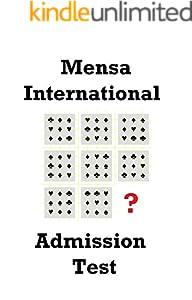 海外メンサ 入会テスト 過去問(IQ値診断付き) Japan Mensa