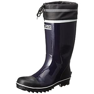 [ヘイギ] 安全長靴 セーフティーブーツ インソール付き HG-2705 ネイビー 27 cm
