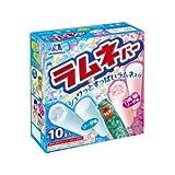 森永製菓 ラムネバー ソーダ味&白桃ソーダ味 45ml×10本×8個