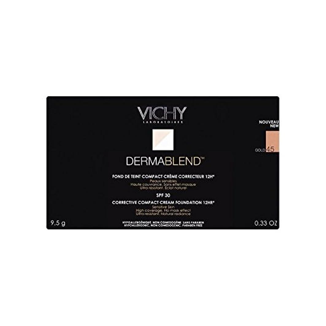 スローガン全員バンドルVichy Dermablend Corrective Compact Cream Foundation Gold 45 (Pack of 6) - ヴィシー是正コンパクトクリームファンデーション金45 x6 [並行輸入品]