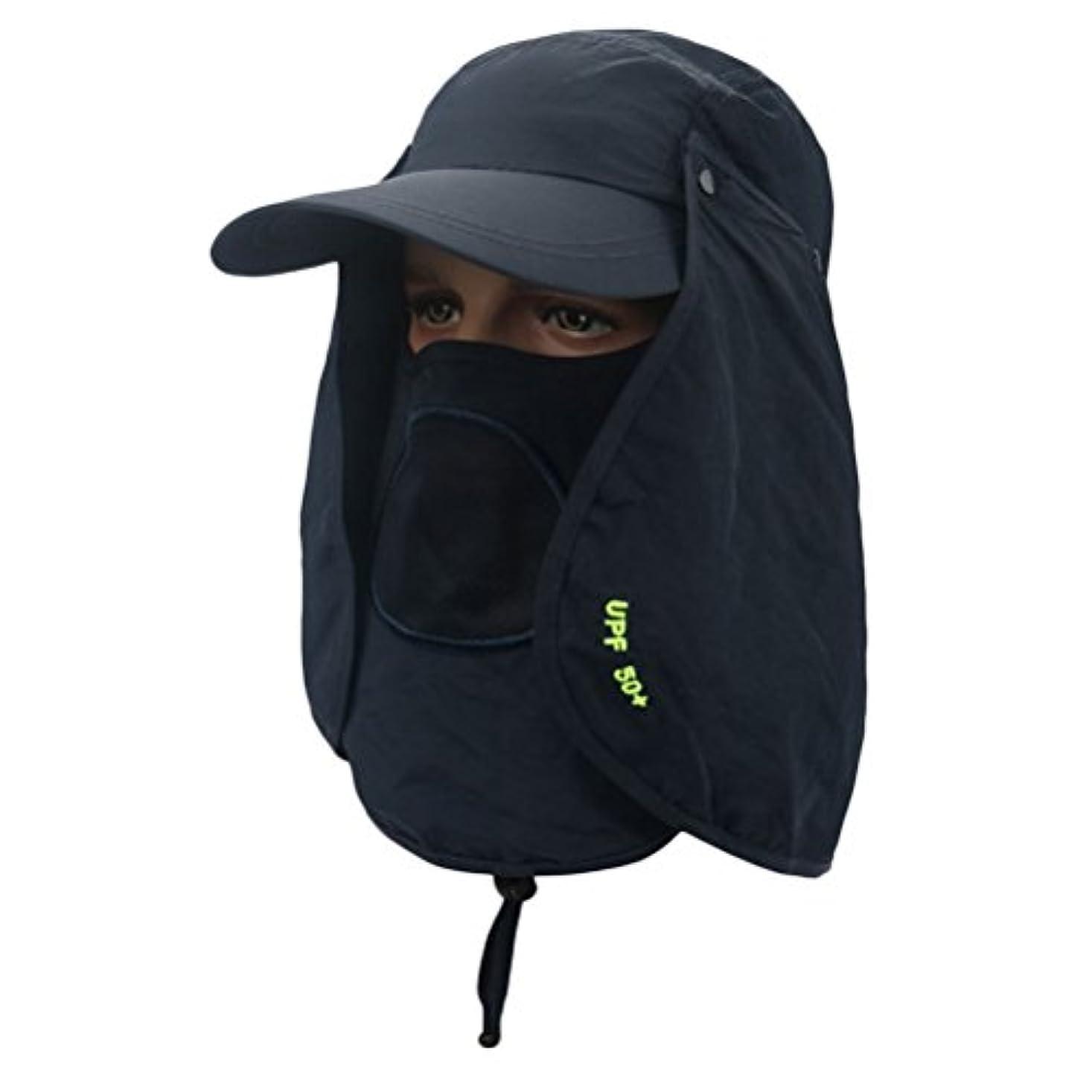 どれか晩ごはん鉱夫Zhhlinyuan 良質 Outdoor Adjustable Sun Hat Unisex Quick-drying UV Protection Visor Cap