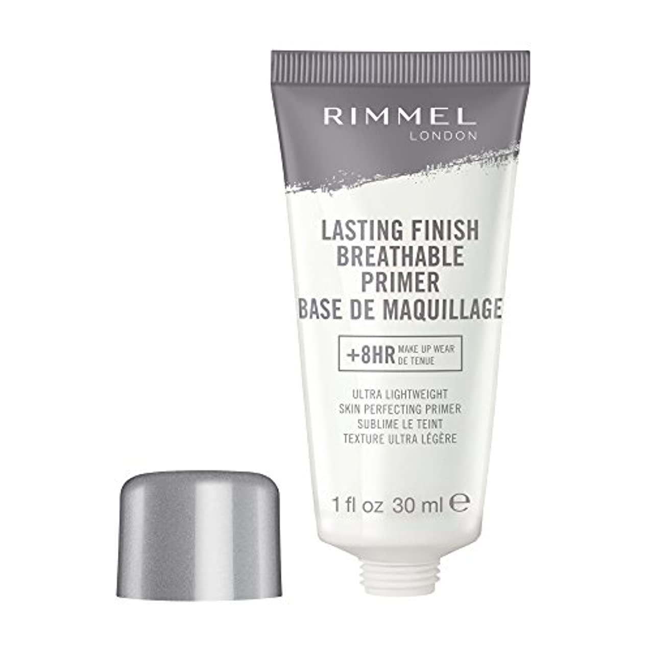 機会植物学者好きRIMMEL LONDON Lasting Finish Breathable Primer - Transparent (並行輸入品)