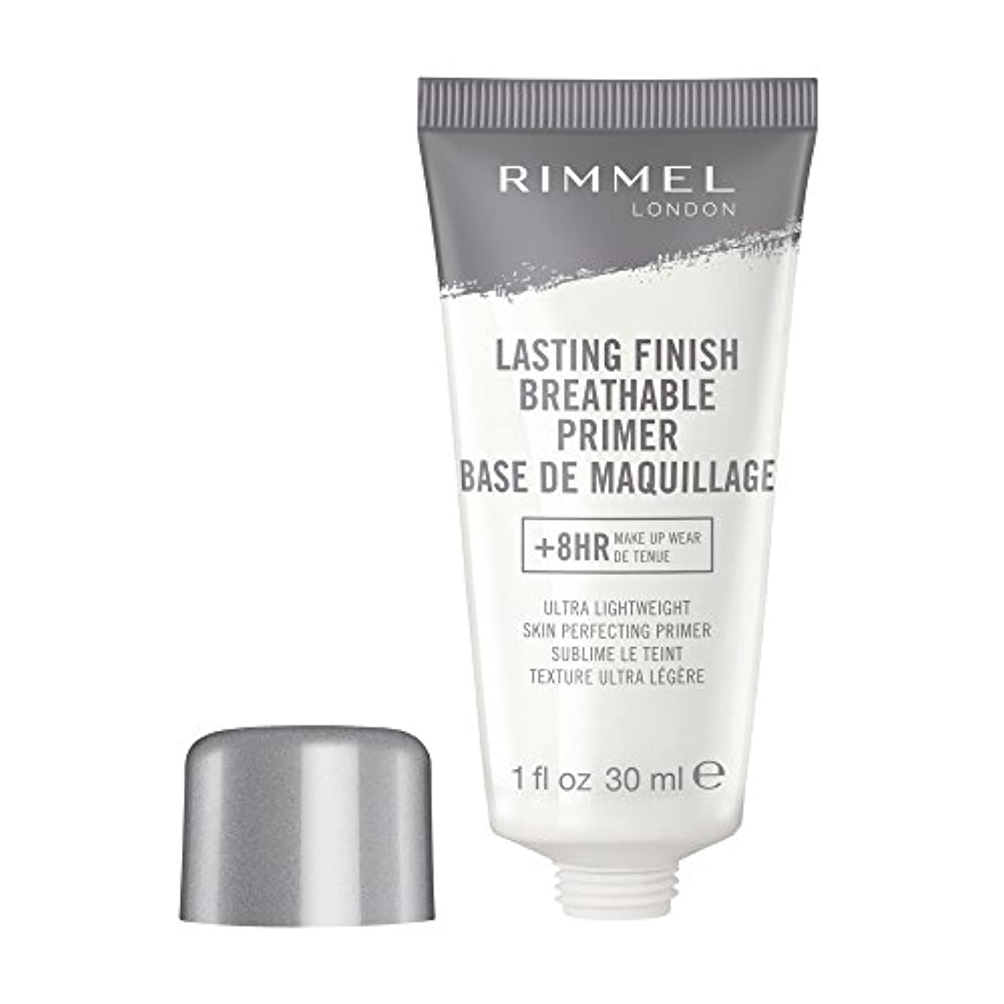 歩く液化する旋回RIMMEL LONDON Lasting Finish Breathable Primer - Transparent (並行輸入品)
