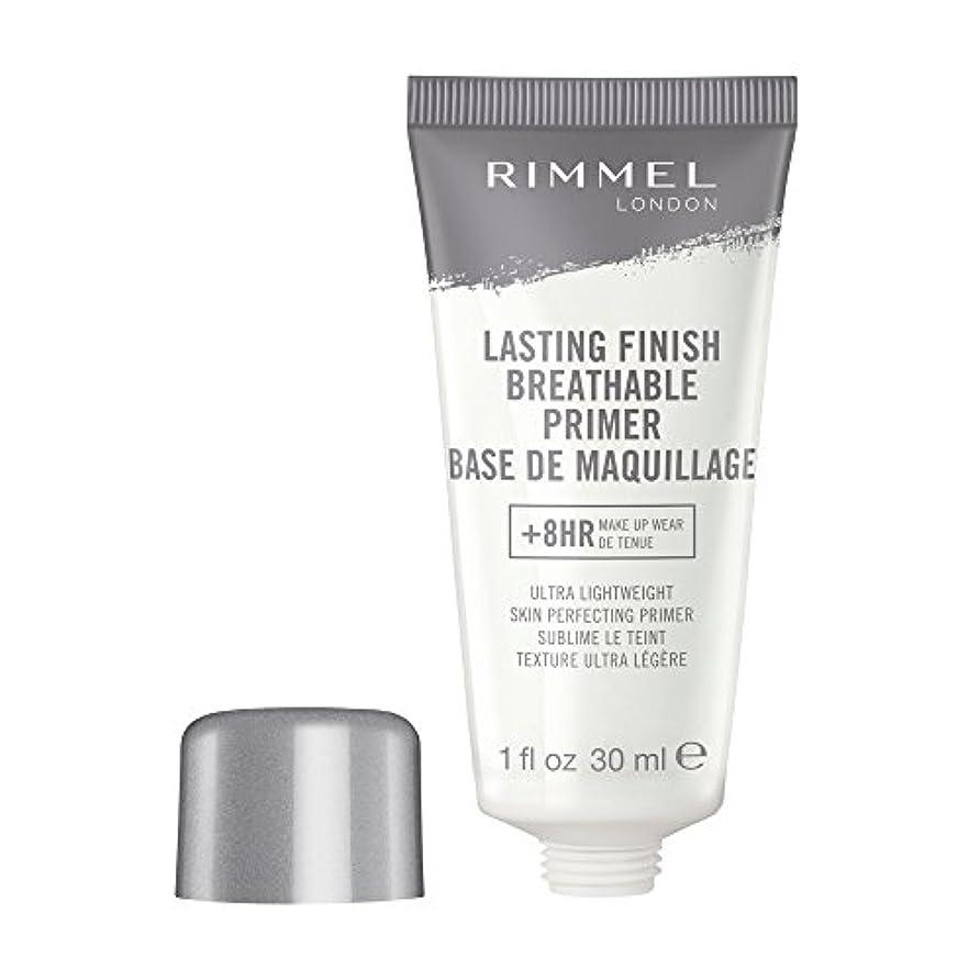 自分のフィットネス夜間RIMMEL LONDON Lasting Finish Breathable Primer - Transparent (並行輸入品)