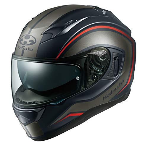 オージーケーカブト(OGK KABUTO)バイクヘルメット フルフェイス KAMUI3 NACK(ナック) フラットブラックグレー (サイズ:L) 584931
