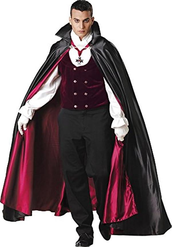 オール不均一アクティブコスプレ ハロウィン 吸血鬼 ドラキュラ バンパイア ゴスロリ メンズ ハロウィン コスプレ 衣装 コスチューム ゴシック調 Lサイズ