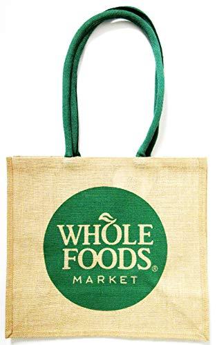 [ホールフーズマーケット]Whole Foods Market ジュートショルダーエコバッグ  ナチュラル [並行輸入品]