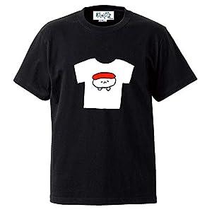 おしゅしだよ TシャツのTシャツ ブラック Mサイズ