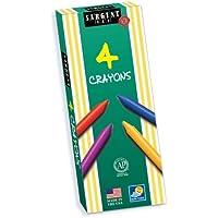 Sargent Art 22-0529 4-Crayons Tuck Box [並行輸入品]
