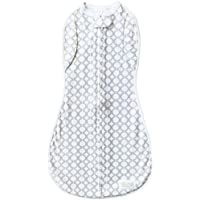 Woombie Convertible Unvented Nursery Swaddling Blankets, MOD Circles, 5-13 Pounds by Woombie