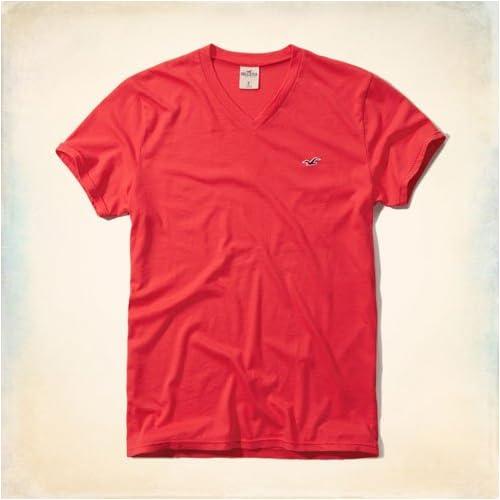 ホリスター HOLLISTER 正規品 メンズ 半袖VネックTシャツ Seascape V Neck T-Shirt 324-369-0416-050 M 並行輸入品