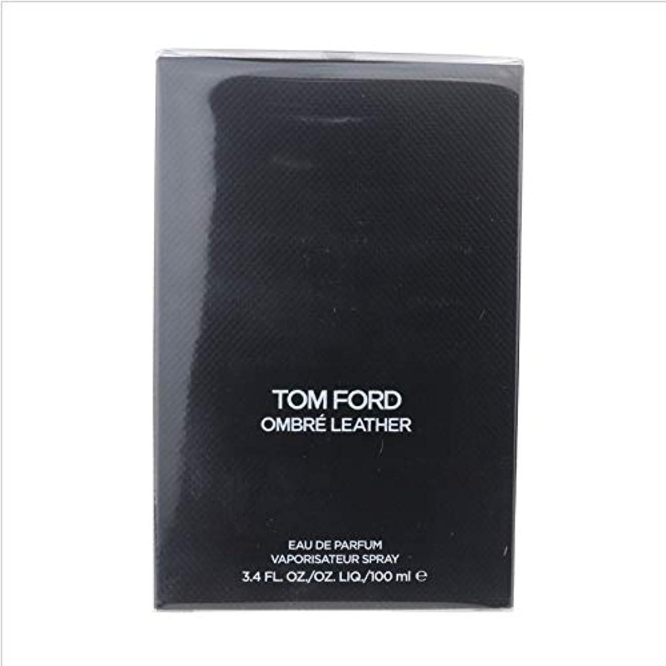 モジュール陽気なベルベットTom Ford Ombre Leather (トムフォード オンブレ レザー) 3.4 oz (100ml) EDP Spray