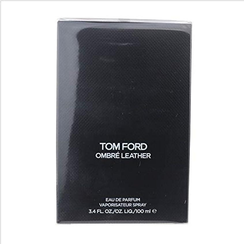 誘惑休み新鮮なTom Ford Ombre Leather (トムフォード オンブレ レザー) 3.4 oz (100ml) EDP Spray