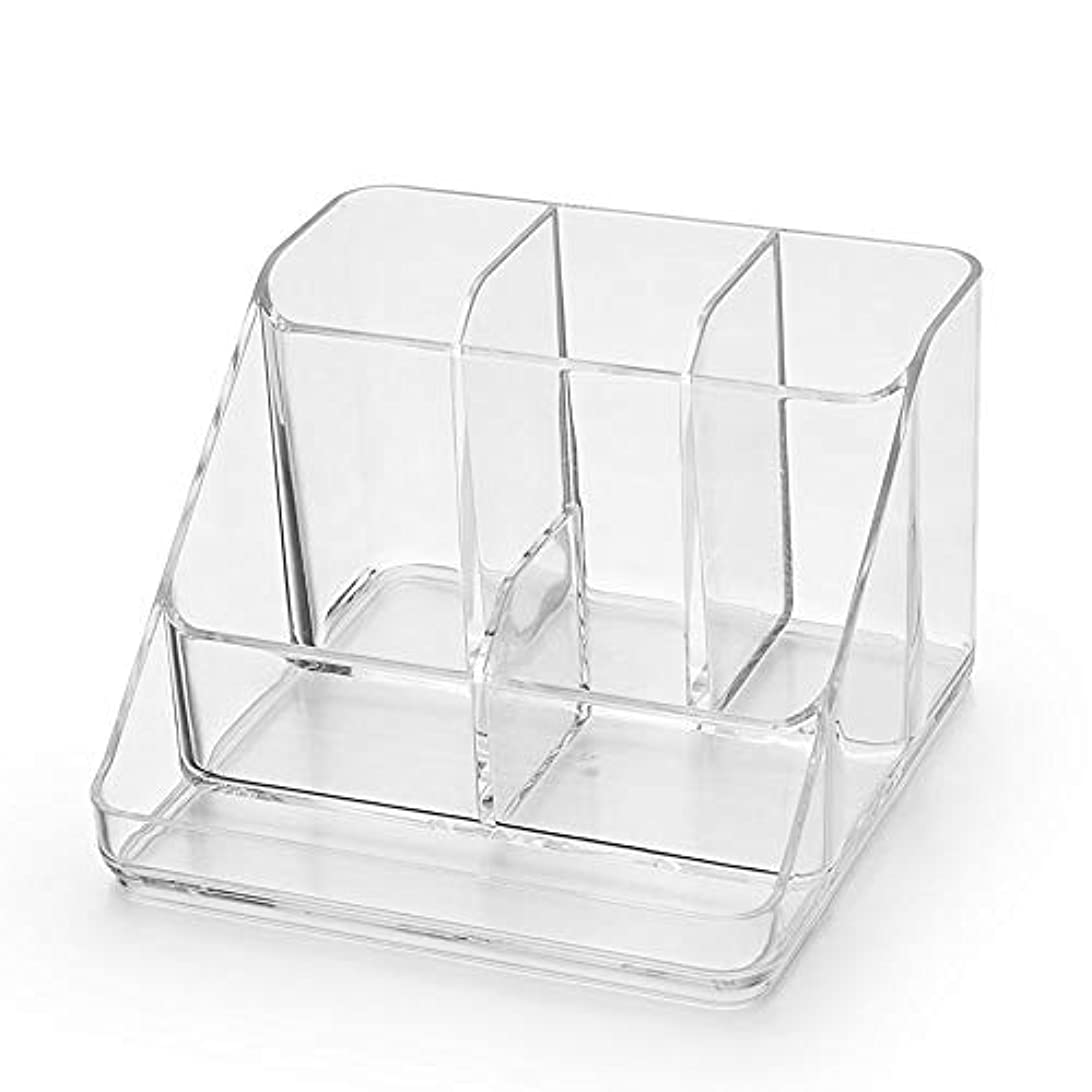 背が高いファイアル弱まるSynziar 収納ボックス 化粧 メイクボックス 透明 高品質 アクリル製 大容量 コスメボックス ジュエリー 小物入れ レディース 自由に組合せ