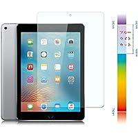 【Tower】iPad Pro 9.7 / Air2 / Air / New iPad 9.7インチ ブルーライトカット タブレット ガラスフィルム ブルーライト92%カット 目にやさしい 98%高透過率 9H硬度 2.5D丸いエッジ 極薄0.26MM 気泡ゼロ 耐衝撃 飛散防止 貼り付け簡単 指紋防止 ブルーライト削減 強化ガラスフィルム 液晶保護ガラスシート