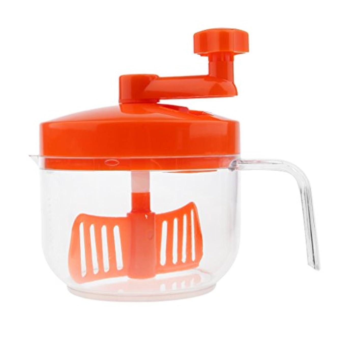 支配的理想的ブルToygogo 手動ヘアカラーミキシングボウル染色ミキサーティント泡立て器攪拌スケール攪拌機