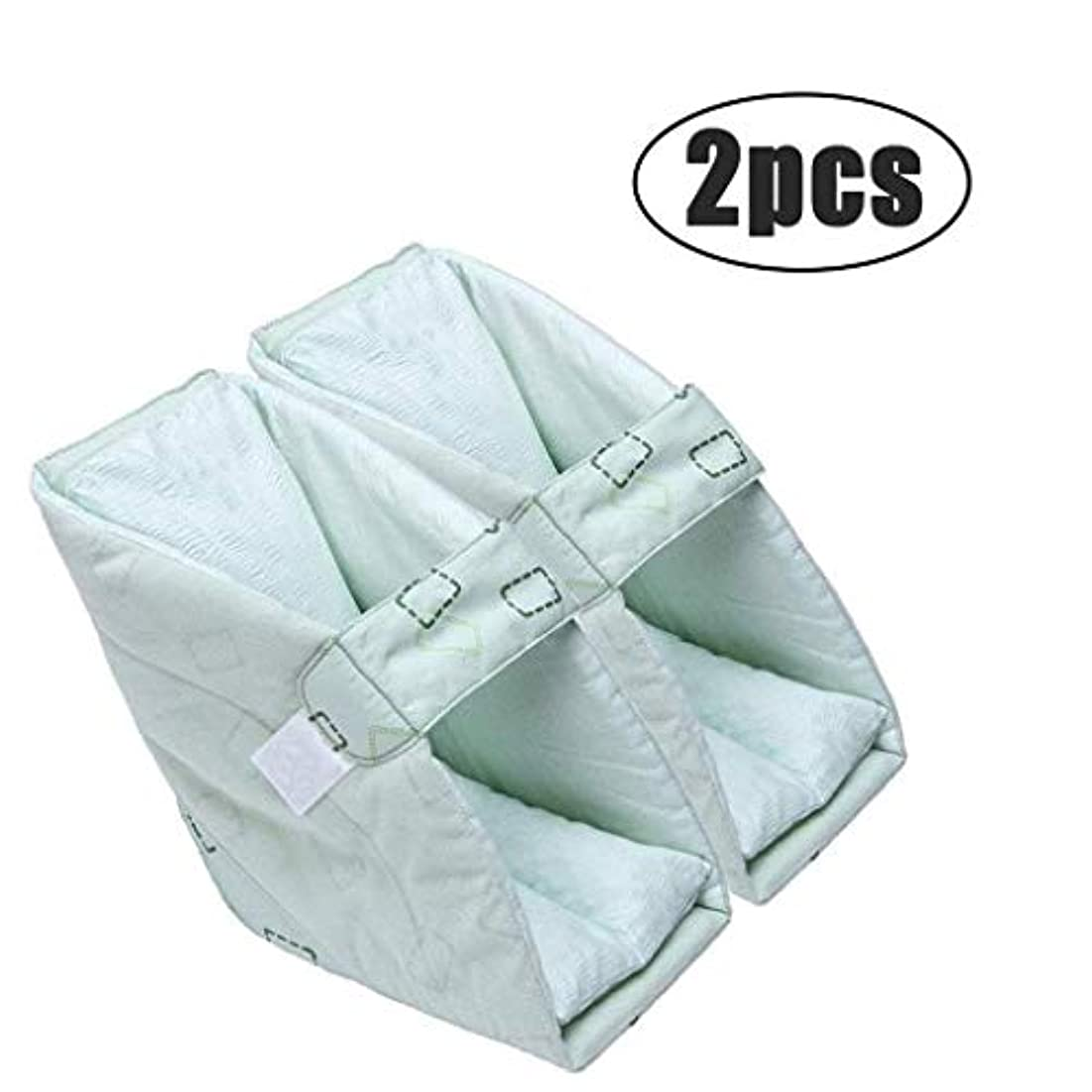 敬の念抽象化ブルジョンTONGSH 足の枕、かかとのプロテクター、かかとのクッション、かかとの保護、効果的なPressure瘡およびかかとの潰瘍の救済、腫れた足に最適、快適なかかとの保護の足の枕 (Size : 2pcs)