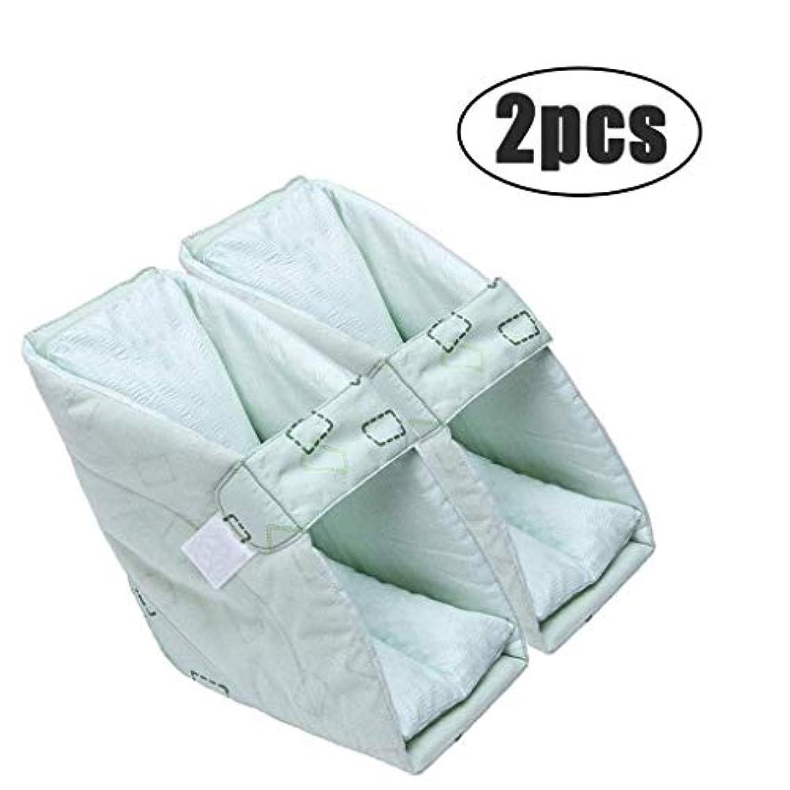 世辞細断増強TONGSH 足の枕、かかとのプロテクター、かかとのクッション、かかとの保護、効果的なPressure瘡およびかかとの潰瘍の救済、腫れた足に最適、快適なかかとの保護の足の枕 (Size : 2pcs)