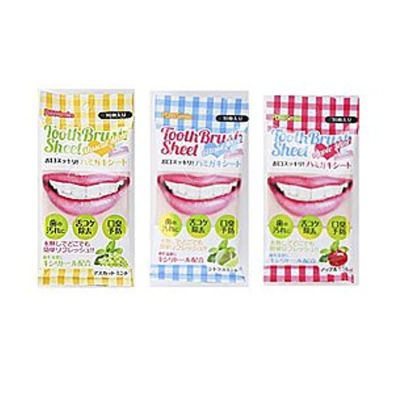 有名なの慈悲でシュリンクピュアスマイル 歯磨きシート 全3種類 (アップルミント)