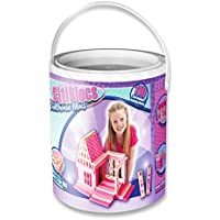 CitiBlocs 110-Piece Pretty in Pink Doll House Set
